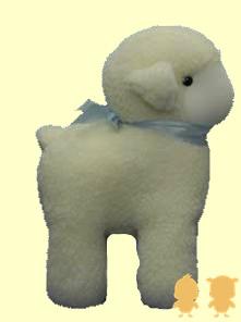 oveja de peluche