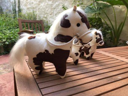 caballo moteado